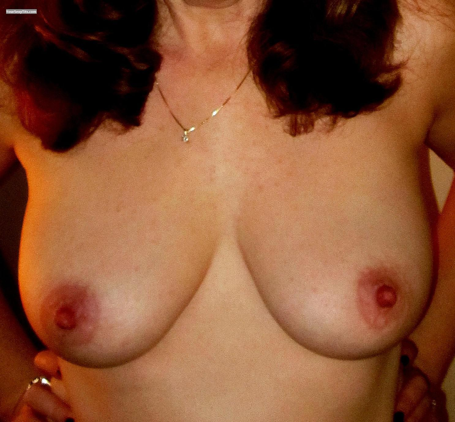 Tit Flash: My Big Tits (Selfie) - MJ from United States